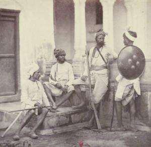 Раджпуты - кшатрии (воины) в Северной Индии