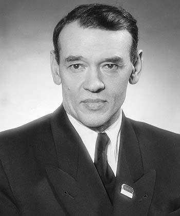 Федор Углов в 1955 году. Фото Батанов А., Портер Лев. Фотохроника ТАСС