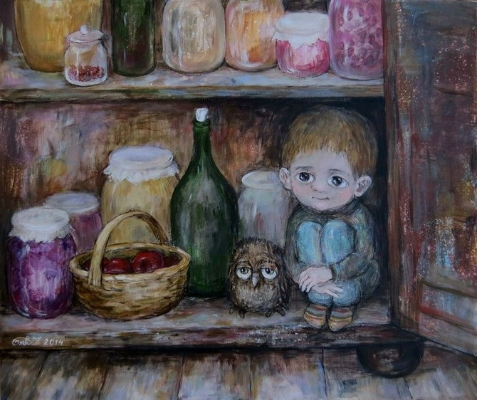 Мир Культуры » Ностальгия по детству. Интервью с грузинской художницей Нино  Чакветадзе