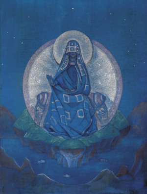 Н.К. Рерих. «Матерь Мира»