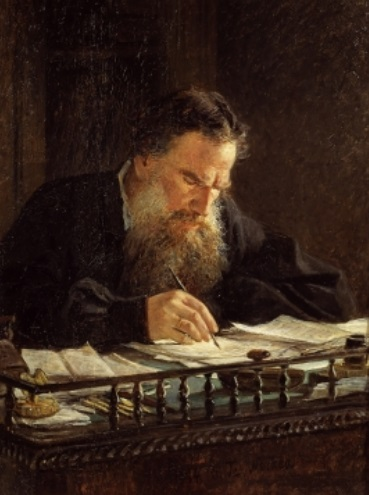 Н.Ге. Портрет Л. Н.Толстого. 1884. ГТГ, Москва