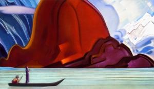 Н.К. Рерих. И мы приближаемся. 1967 г. Государственный музей искусства народов Востока (Москва)