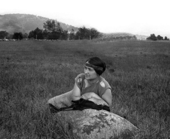 Зинаида Григорьевна Лихтман (Фосдик). 1920-е