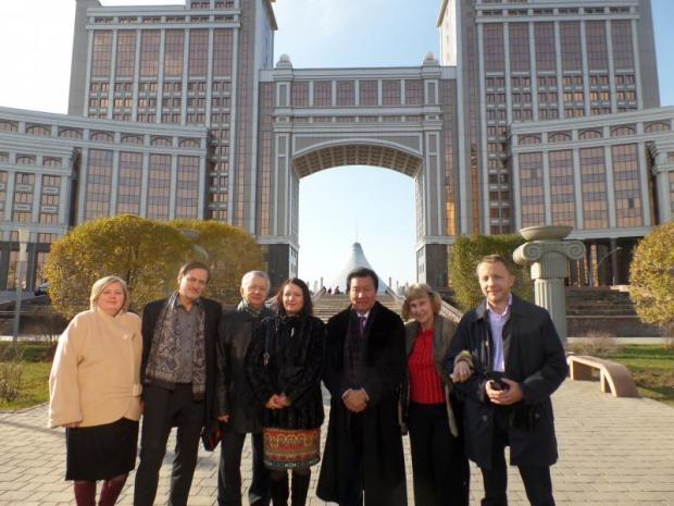 Астана. 2015г. После заседания президиума Форума Духовной Культуры