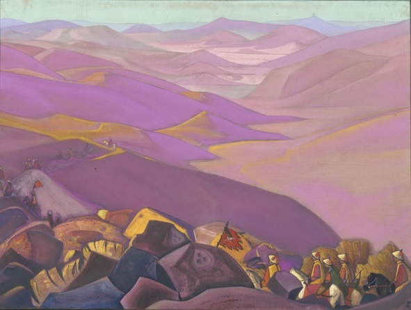 Н.К.Рерих. Поход Чингисхана. 1937−1938. ГМИНВ, Москва, Россия
