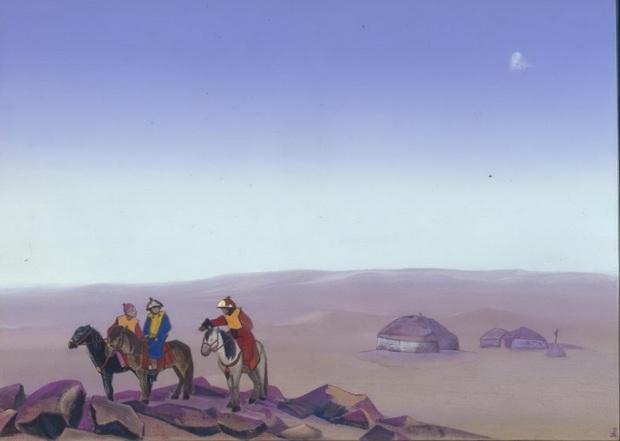 Н.К.Рерих. Монголия. 1938. ГМИНВ, Москва, Россия