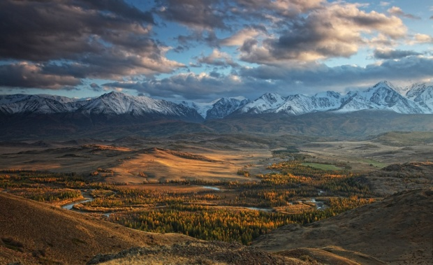 © Сергей Жеребцов Вид на долину реки Чуя