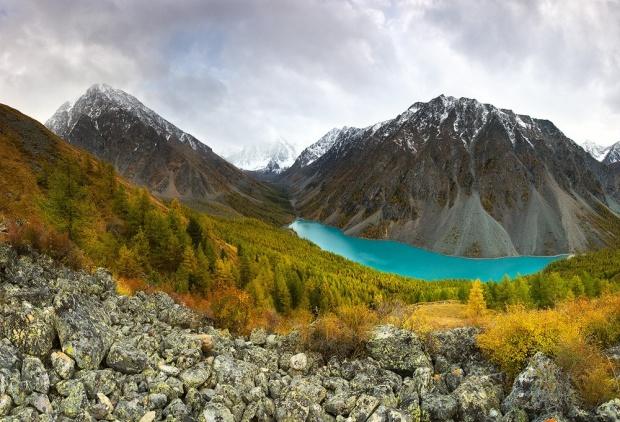 © Konstantin Maslak Нижнее Шавлинское озеро