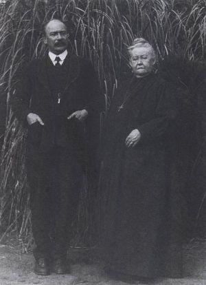 Уильям Дауэр и Франчиа Ла Дью, 1920-е годы