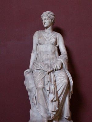 Мнемосина - богиня памяти, мать муз