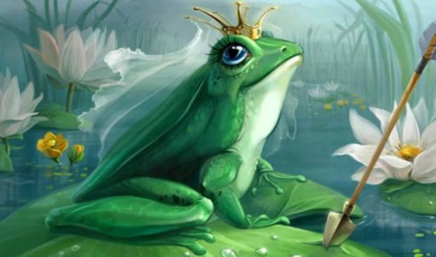 Царевна - Лягушка. Она - красавица