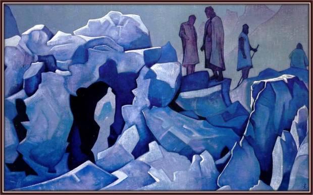 Дозор Гималаев, 1925 г. Музей им. Н.К. Рериха, Москва, РФ