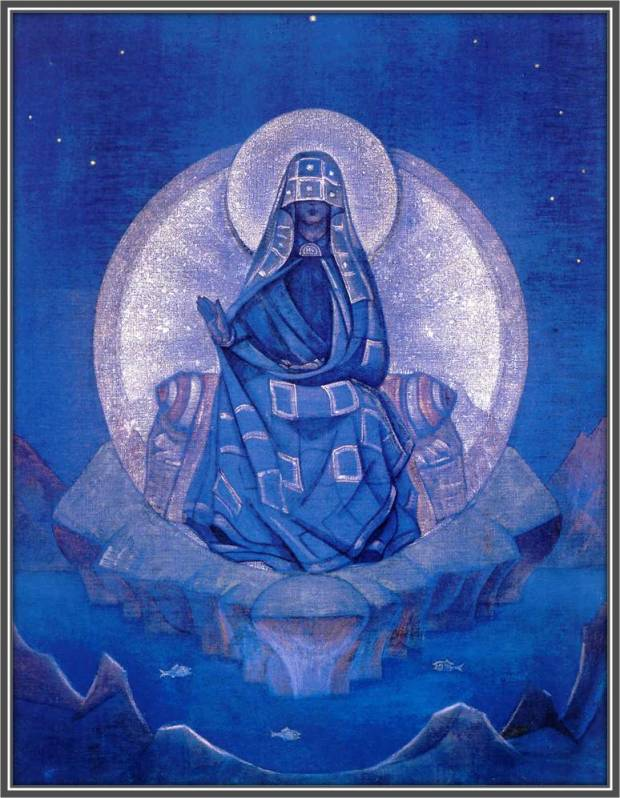 Матерь Мира, 1924 г. Музей им. Н.К. Рериха, Москва, Россия