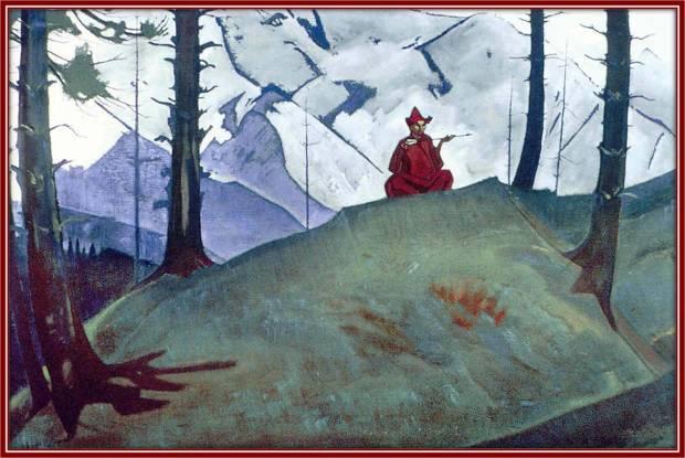 «Саракха – благая стрела», 1925 г. Собрание В. Боллинга, США