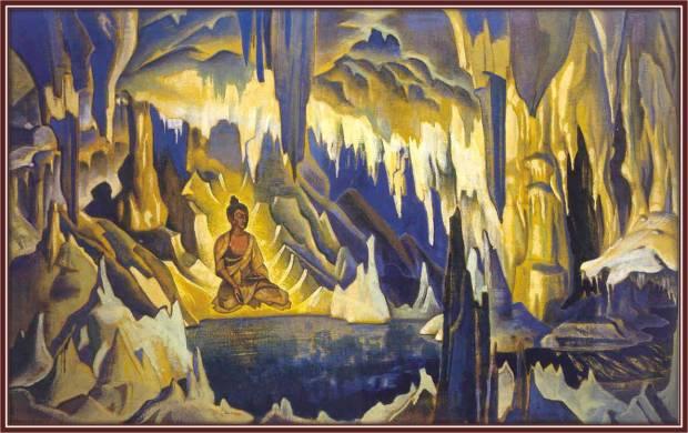 Будда-победитель, 1925 г. Музей им. Н.К. Рериха, Москва, Россия
