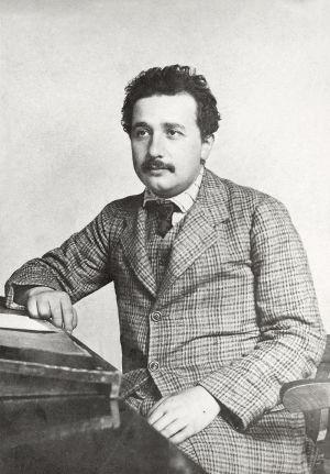 Эйнштейн в патентном бюро (1905)