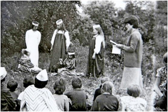 Выступление агитбригады. 1981 г.