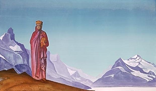 «Держательница мира (Камень несущая)». 1933