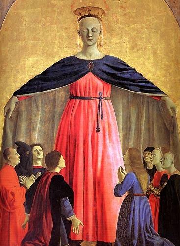 Пьеро делла Франческа (1415–1492). Мадонна делла Мизерикордиа