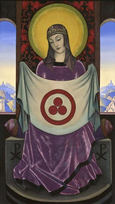 Мадонна Орифламма. 1932