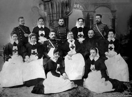 Попечители, члены Комитета и сестры милосердия Крестовоздвиженской общины