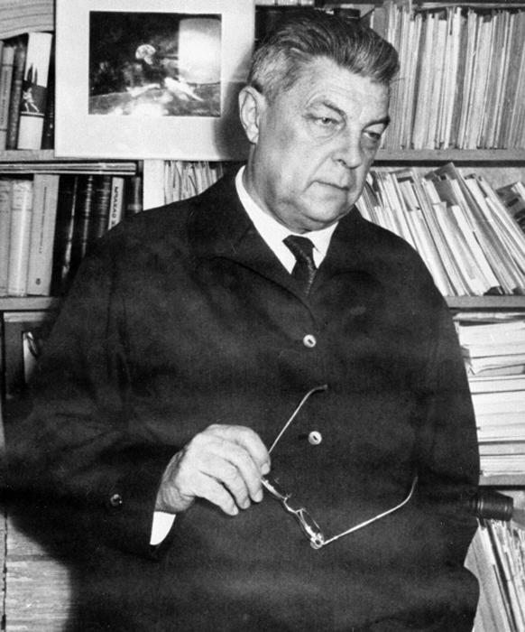 01.06.1968 г.  Советский писатель Иван Антонович Ефремов (1907 - 1972 г.) РИА Новости