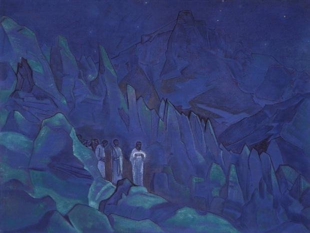 Сожжение тьмы. Н.К.Рерих. 1934 г.