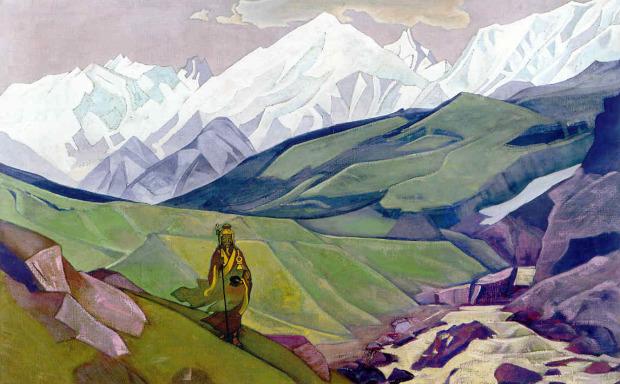 Йенно Гуйо Дья - друг путников. Н.К.Рерих. 1925