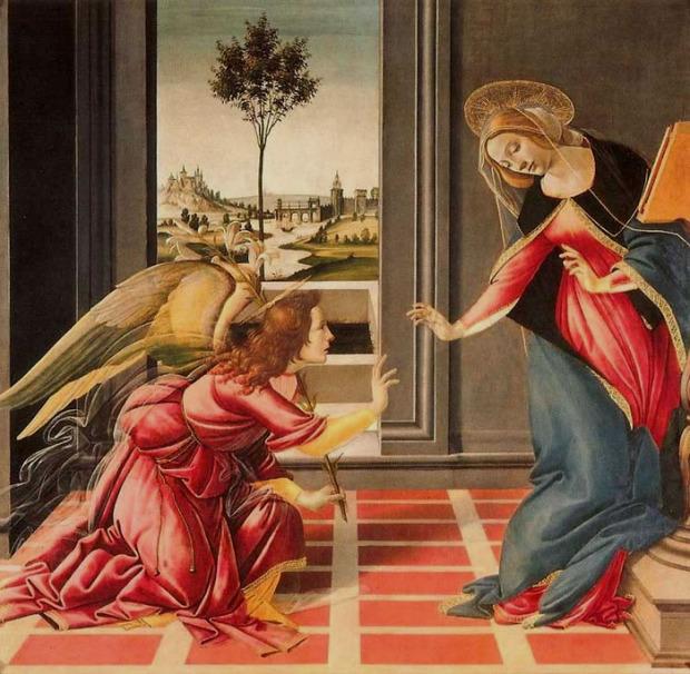 Боттичелли, 1489 г.