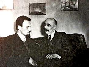 Б.А.Смирнов и С.С.Митусов. 30-егг.