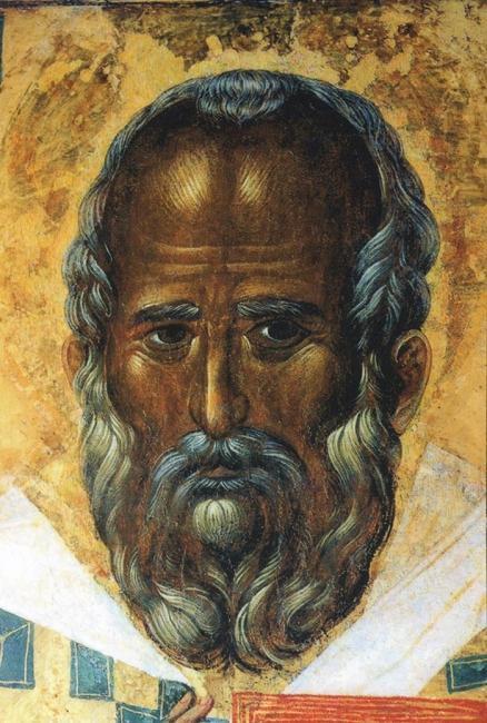 Икона, написанная на основе прижизненного портрета святого Николая Чудотворца. Базилика св. Николая. Бари, Италия