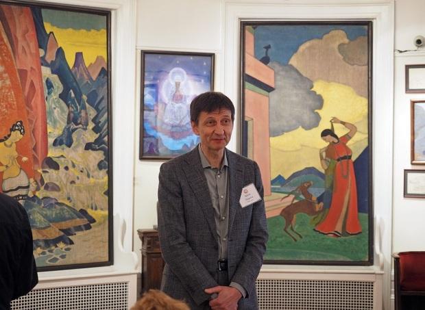 Гвидо Трепша. Директор Музея Николая Рериха в Нью-Йорке
