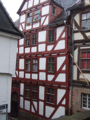 Дом, в котором Ломоносов жил в Марбурге