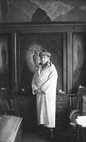 Е.И. Рерих, 1930-е, Наггар, Индия
