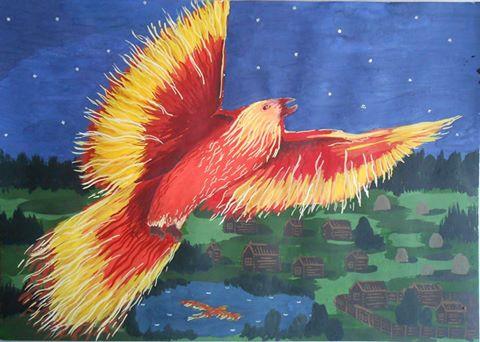 Рисунок Березиной Елизаветы. Ижевск