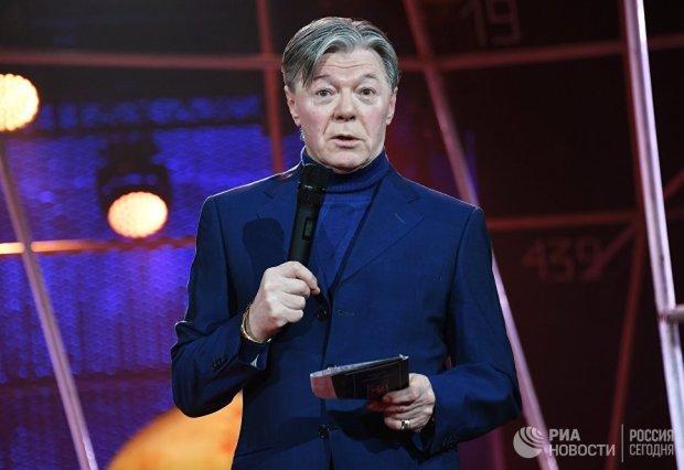 Александр Збруев на юбилейном вечере, посвященном 90-летию Московского государственного театра Ленком