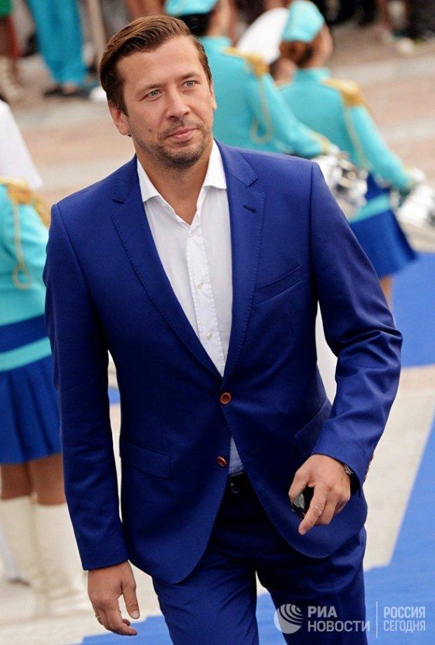 Актер Андрей Мерзликин на открытии 13-го Международного кинофестиваля стран азиатско-тихоокеанского региона Меридианы Тихого во Владивостоке