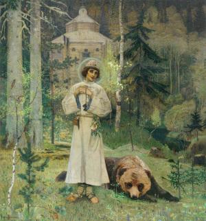 М.В. Нестеров. ЮНОСТЬ ПРЕПОДОБНОГО СЕРГИЯ. 1892 – 1897