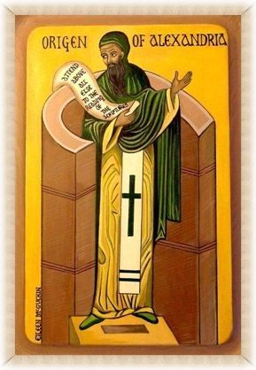 Ориген Александрийский. Современная икона http://spirina.info/photo/69/356