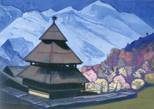 Н.К.Рерих. Храм Трипура Сундри. 1932