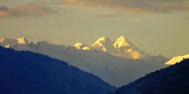 Долина Кулу. Гора М (Гирнар). Современное фото