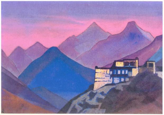 Н.К.Рерих. Замок такуров. 1932