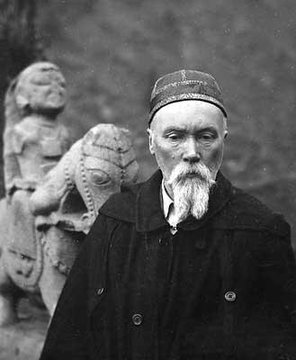 Н.К.Рерих в Кулу. 1930-е