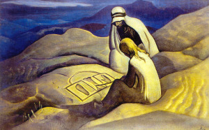 Знаки Христа. Н.К.Рерих. 1924 г.