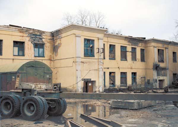 Развалины детского сада, переданные под Музей в 1997 году