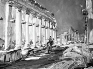 Ил. 2.В. В. Надёжин. Пальмира. Сирия. 2003 Холст, масло. 50 × 70 Собственность Г. А. Жигарева