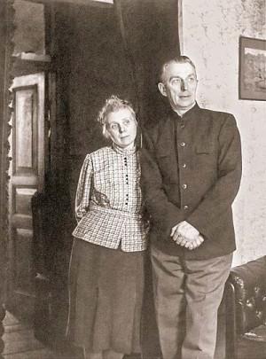 Б.Н. Абрамов и Н.И. Абрамова