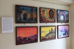 Фрагмент экспозиции в Музее Б.Н. Абрамова в г. Венёве. 30 июля 2017 г.