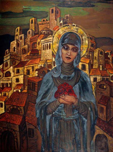 С.Н.Рерих. Розы сердца. 1923