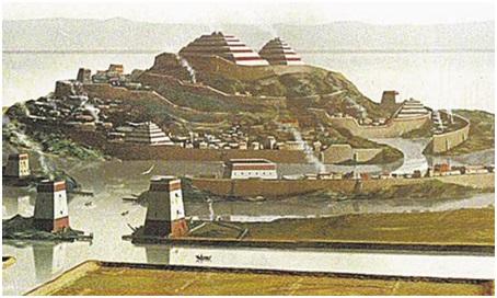 Столица Атлантиды – Город Золотых Врат.